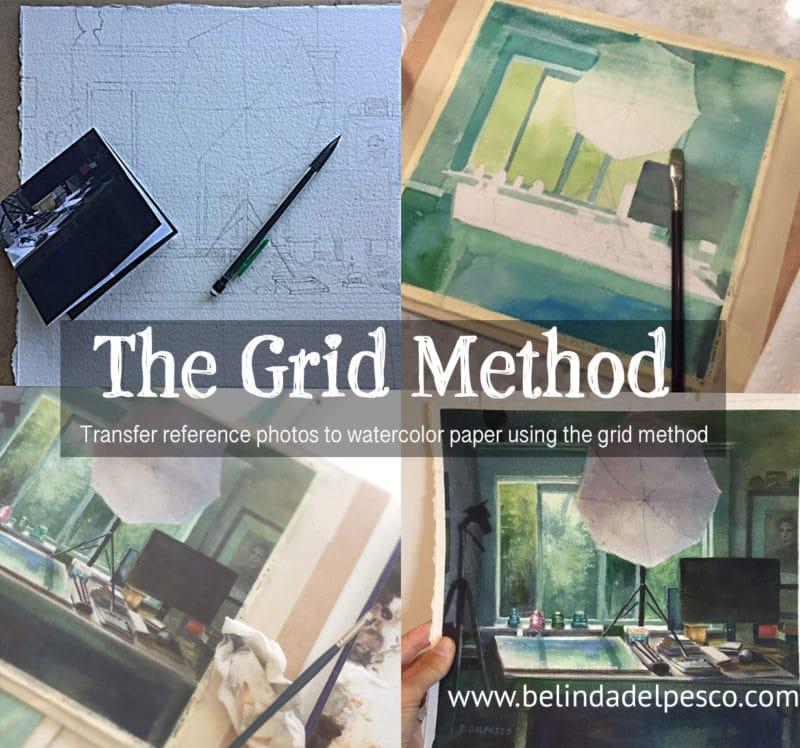 Examples of using the Grid Method to help with accuracy in drawing